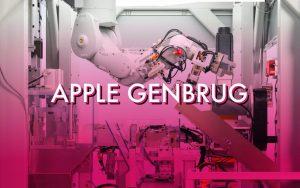 apple genbrug