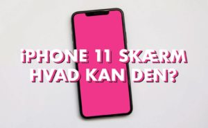 iphone 11 skærm